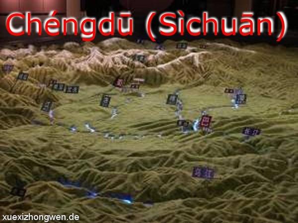 Chengdu Sichuan Ebene