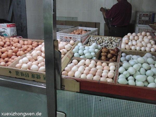 Vielfältige Eier-Auswahl