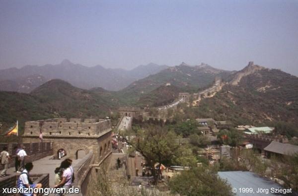 Weite der Chinesischen Mauer