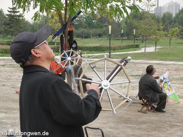 So zähmt man in China einen Drachen