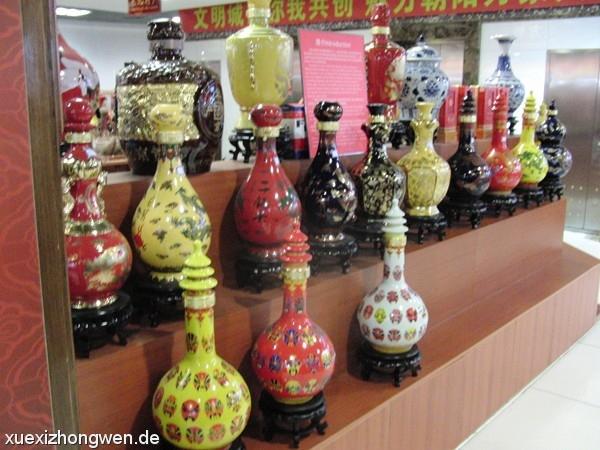 Chinesische Vasen im Silk Market