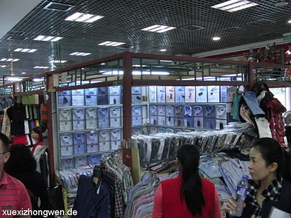 Herrenhemden im Silkmarket Beijing