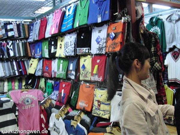 Marken Poloshirts im Silk Market