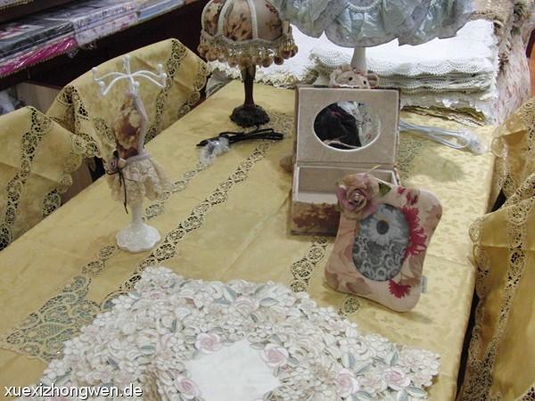 Tischdeckchen im Großmutter-Stil