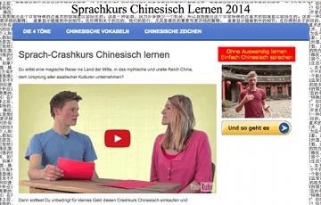 Sprachkurs Chinesisch Lernen